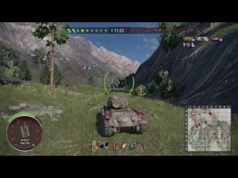 World of Tanks PS4 - T-34-88 Master 8 kills