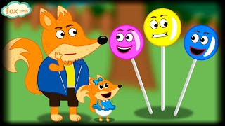 Fox Family Сartoon for kids Adventures with The Foxes #558