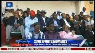 2016 Sports Moments: Developing Youth Football With Channels Kids Cup