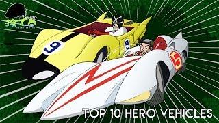 Anime Abandon: Top 10 Hero Vehicles