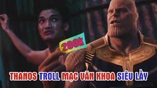 """Thanos """"Nựng"""" Mạc Văn Khoa đến Nín Thở trong Lật Mặt - Nhà Có Khách"""
