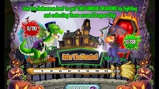 Dragon City: Halloween Island -Frankie & hallowen Dragon (Octubre 2013)