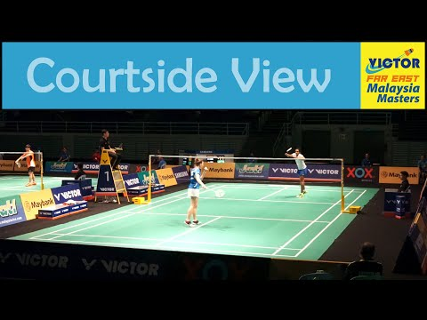 BWF Malaysia Masters 2016   Badminton WS R32   P. V. SINDHU vs Sabrina JAQUET - Courtside