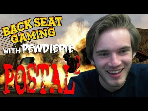 PEWDIEPIE PEES ON EVERYTHING (Backseat Gaming)