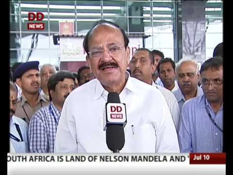 Action against cable operators broadcasting channel that are not licensed:: Venkaiah Naidu