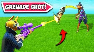 *1 IN 1 MILLION* GRENADE SNIPER SHOT!! – Fortnite Funny Fails and WTF Moments! #646