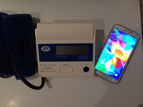 Samsung galaxy s5 heart rate monitor VS blood pressure machine