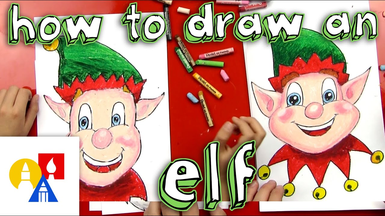 Christmas Elf Drawing How to Draw a Christmas Elf