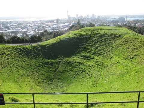 Mount Eden Crater - Auckland - New Zealand