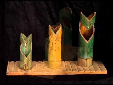 Txefo Artea Tailerra. Esculturas Bamboo