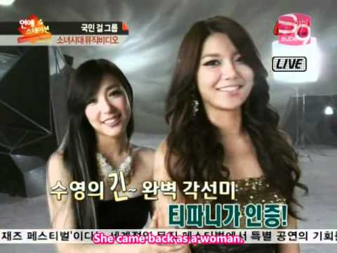 Etn Entertainment News Making Of The Boys Mv - Snsd [2011.11.10] (en) video
