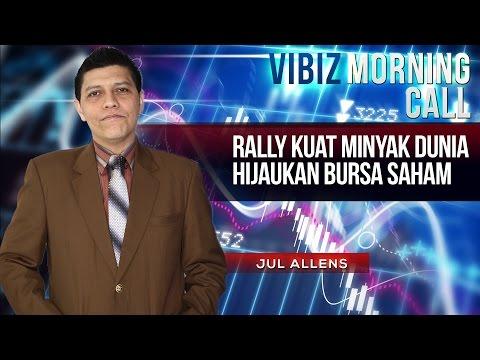 Rally Kuat Minyak Dunia Hijaukan Bursa Saham, Vibiznews 16 April 2015