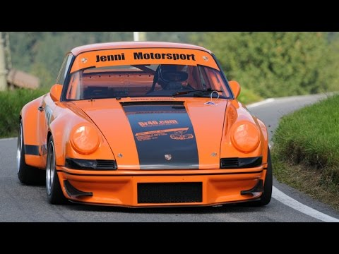 Amazing Sound of Porsche 911 Carrera RSR with full onboard: Willi Jenni @ Swiss Hillclimb