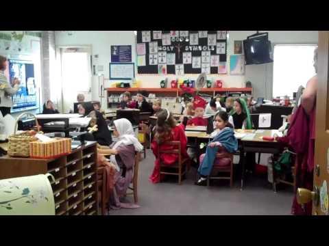 St John The Evangelist School  First Grade 2011 All Saints Day - 11/02/2011