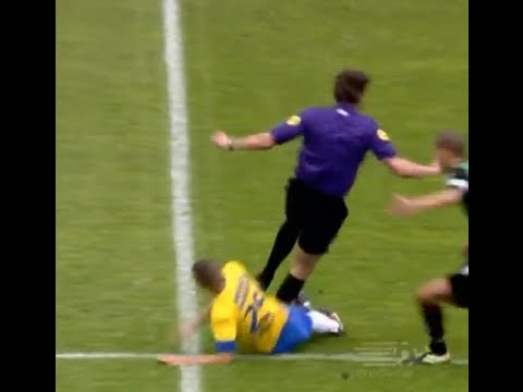 Player Tackles Referee