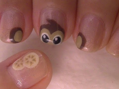 Monkey Nail Art Tutorial
