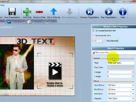 الجزء الثانى من شرح برنامج عمل مقدمات الفيديو slide effect