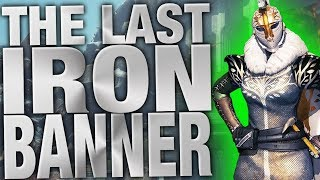 The Last Iron Banner - Vendor Rolls and Hijinx