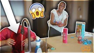 Hair DYE Prank On Girlfriend!! **She FREAKED OUT**