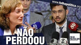 Maria do Rosário desvia de assunto durante votação importante e Kim Kataguiri 'não perdoa'