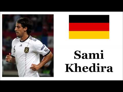 How to Pronounce Sami Khedira - German Footballer