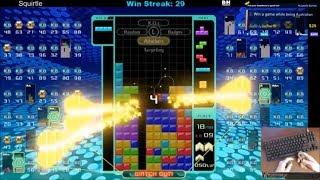 Tetris 99 - KO'd ALL TOP 10, 69 Back to Backs