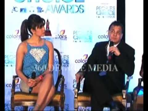 Hot Sexy Priyanka Chopra With Raj Nayak On People Choice Awards- Launches People Choice Awards video