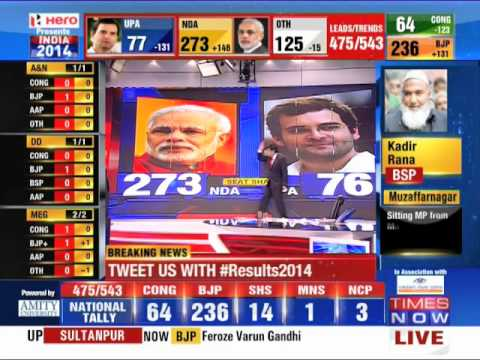 BJP wins India Election 2014: Ab ki baar Modi sarkaar