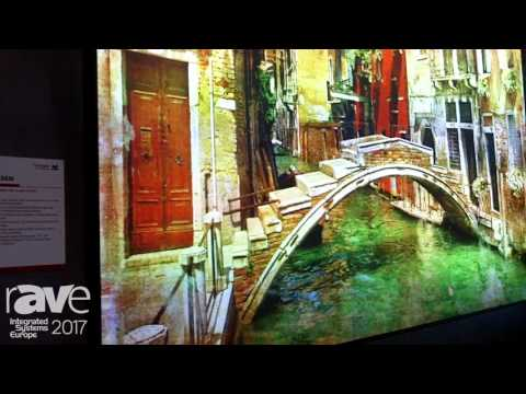 ISE 2017: ViewSonic Displays LS830 Laser Projector