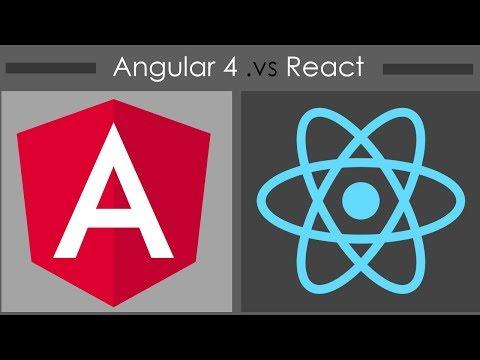 Angular 4 vs React - A Comprehensive Comparison