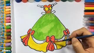 Liên Khúc Con Heo Đất ♫ Nhạc Thiếu Nhi Giúp Bé Ăn Ngon Miệng ♫ Hướng Dẫn Bé Vẽ Váy Công Chúa