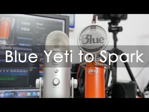 Microphone Upgrade Yeti to Blue Spark Comparison & Review