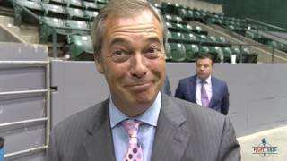 Nigel Farage Interview with RSBN at Donald Trump Rally in Jackson, MS 8/24/16