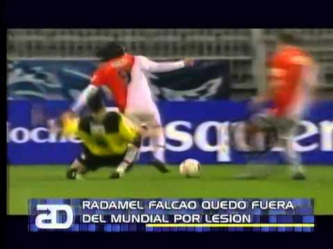 América Noticias: 02.06.14 -Radamel Falcao se queda sin Mundial