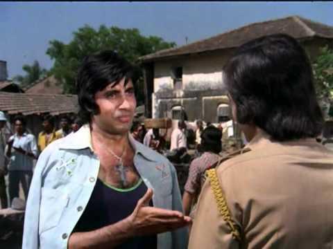 Amar Akbar Anthony - Drama Scene - Vinod Khanna - Amitabh Bachchan...