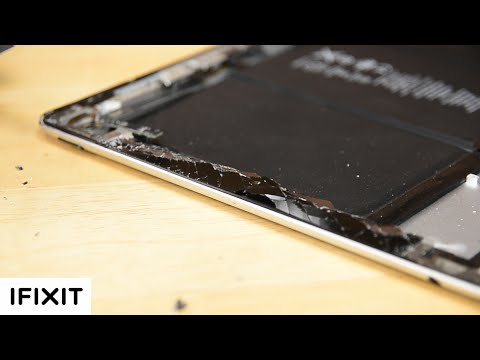 What's the Best Way to Remove Shattered iPad Glass? With Zack from JerryRigEverything