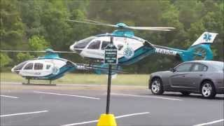 Insane Care Wreck Double Helicopter Landing