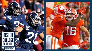 #23 Virginia at #3 Clemson Preview | Inside College Football