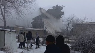Dozens killed in Kyrgyzstan plane crash