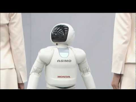 ASIMO Robot Demo 3/9: Simultaneous Voice Recognition