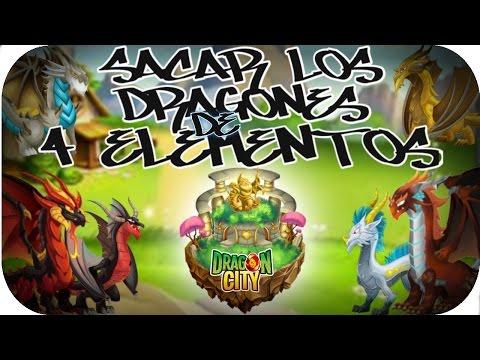 Como Sacar Todos Los Dragones De 4 Elementos - Santuario De Cría → Dragon City ← ((LuchoCraft))
