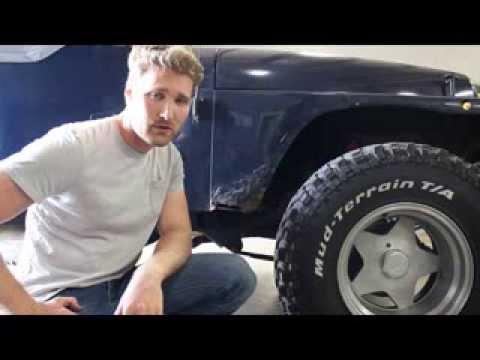 Jeep Wrangler Rust Repair Youtube