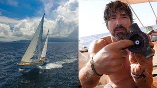 Cooling Pump FAILURE!  STOP Motoring You P***y's!!!!- Sailing Vessel Delos Ep. 214