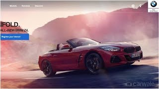 New BMW Z4 Roadster listed on Indian website; launch imminent   CAR NEWS 2019