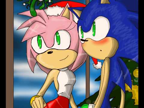 amy rose and sonic the hedgehog