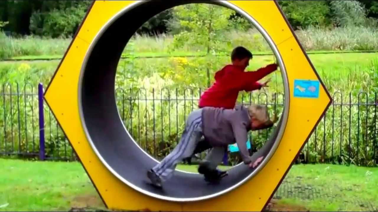 Human hamster wheel work