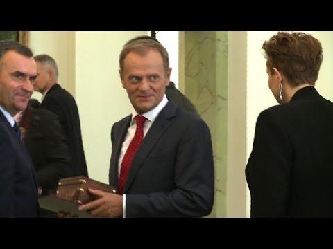 Polish president accepts resignation of EU-bound PM