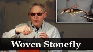 Gary Jones: Woven Stonefly pattern free fly tying video