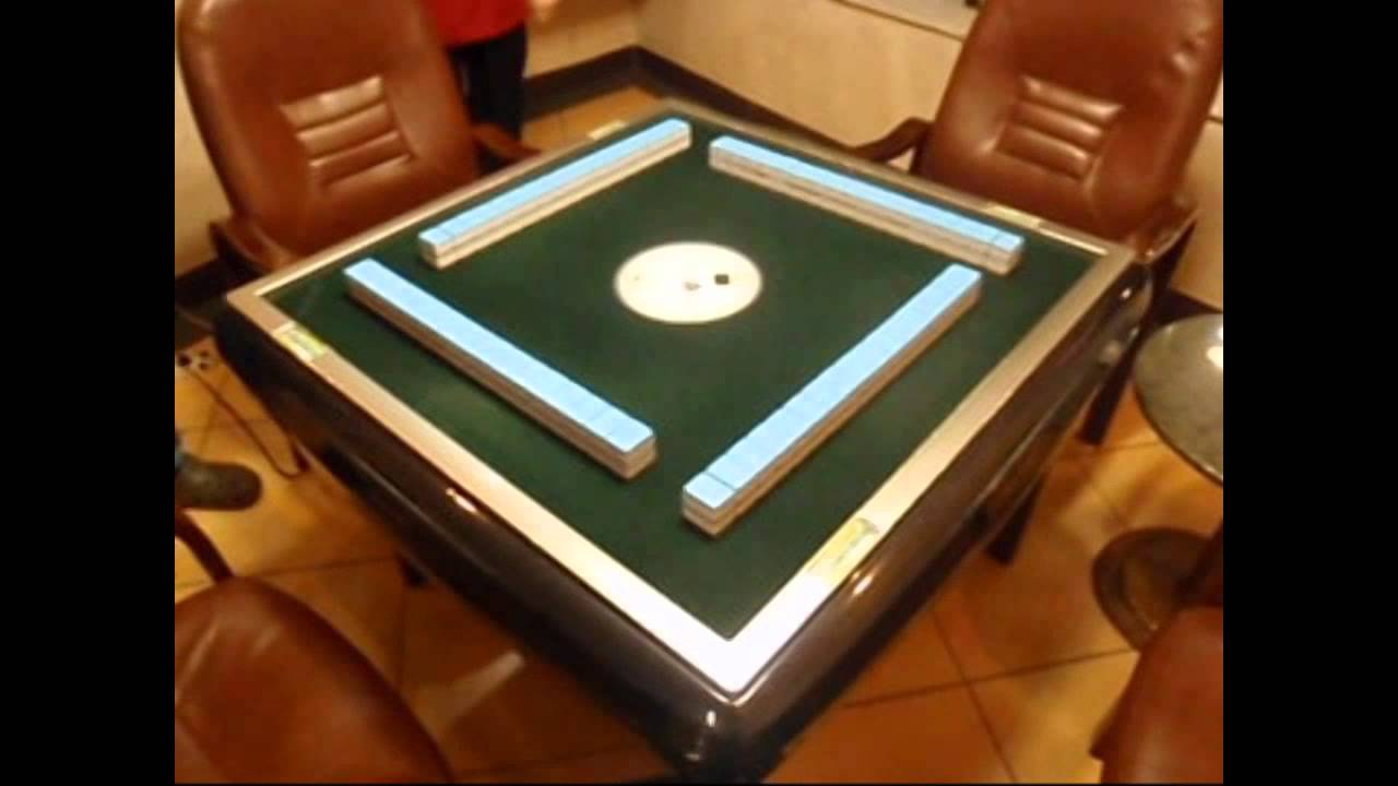 Automatic Mahjong Table in