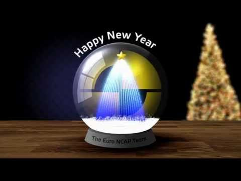 Привествие Euro NCAP с Рождеством!